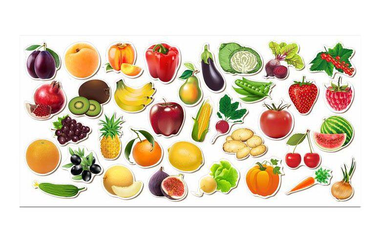 С фруктами знакомство