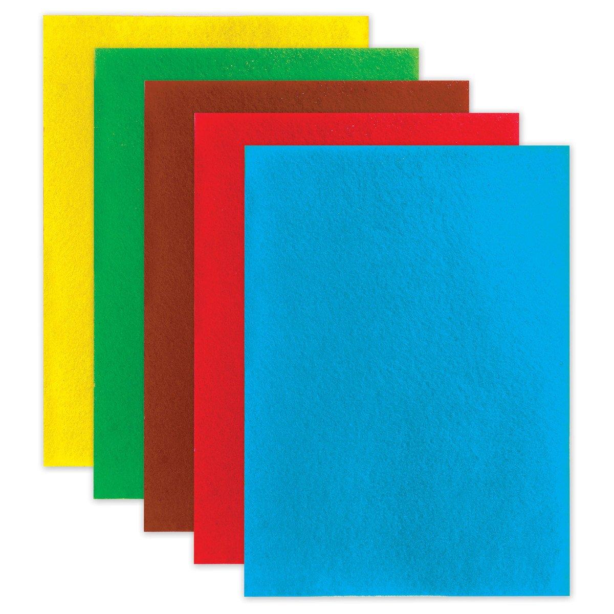 Набор фетра цветного  А4