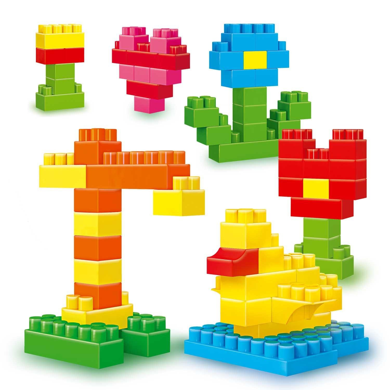 поделка с фото из кубиков также