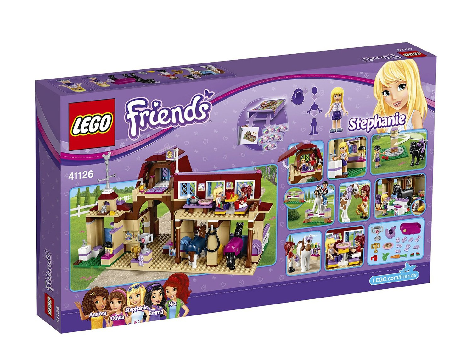 Конструктор Lego серия Lego Friends Клуб верховой езды (41126), фото
