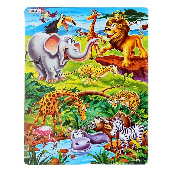 Детские африканские картинки животных