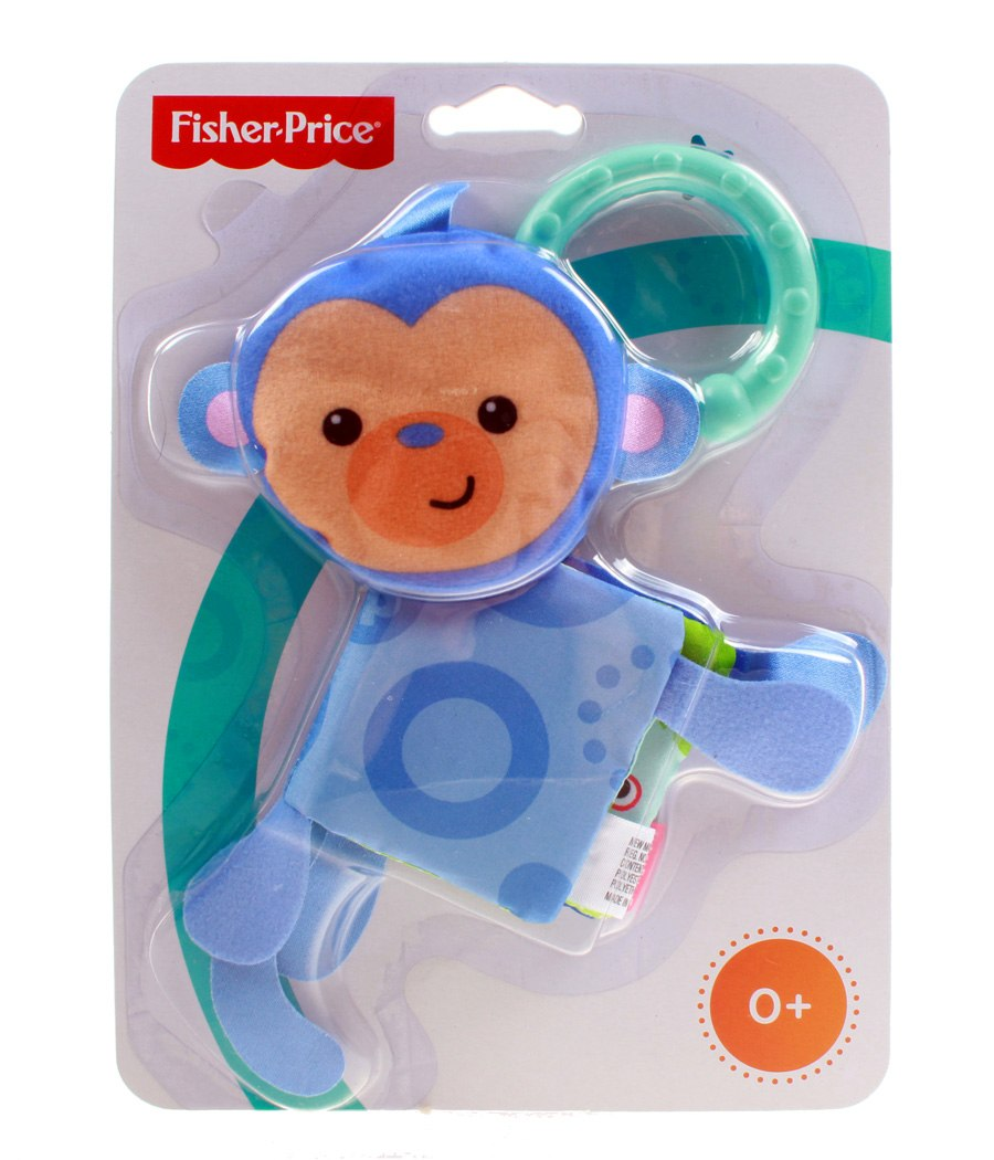 "Подвеска Fisher-Price ""Мягкая книжка"", обезьяна (CCG04), фото"
