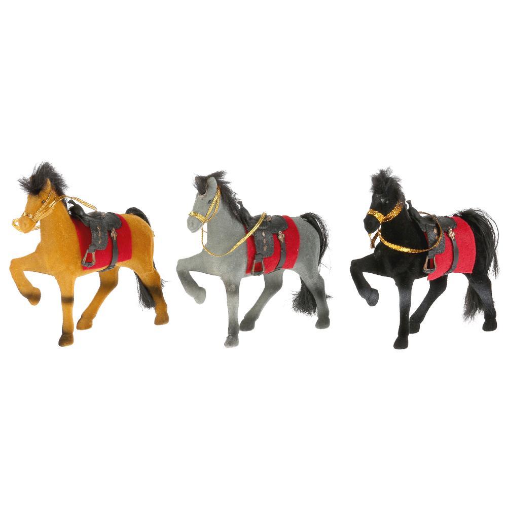 Лошадь Play Smart 11*10 см, из флока A547-H42006 купить по цене 220 руб. в Владивостоке в интернет-магазине — Юмитой