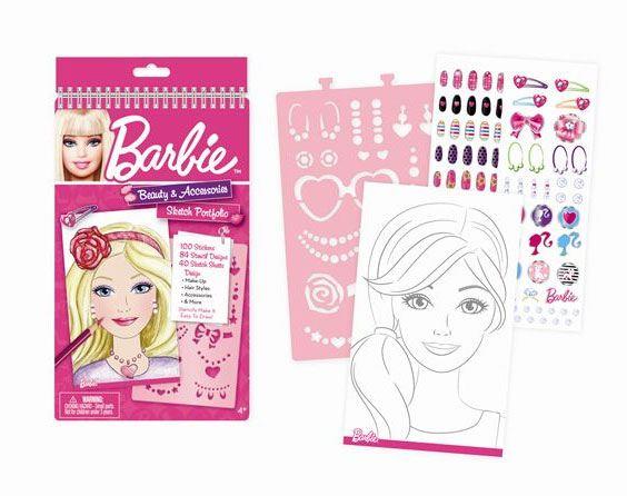 Как раскрасить макияж барби