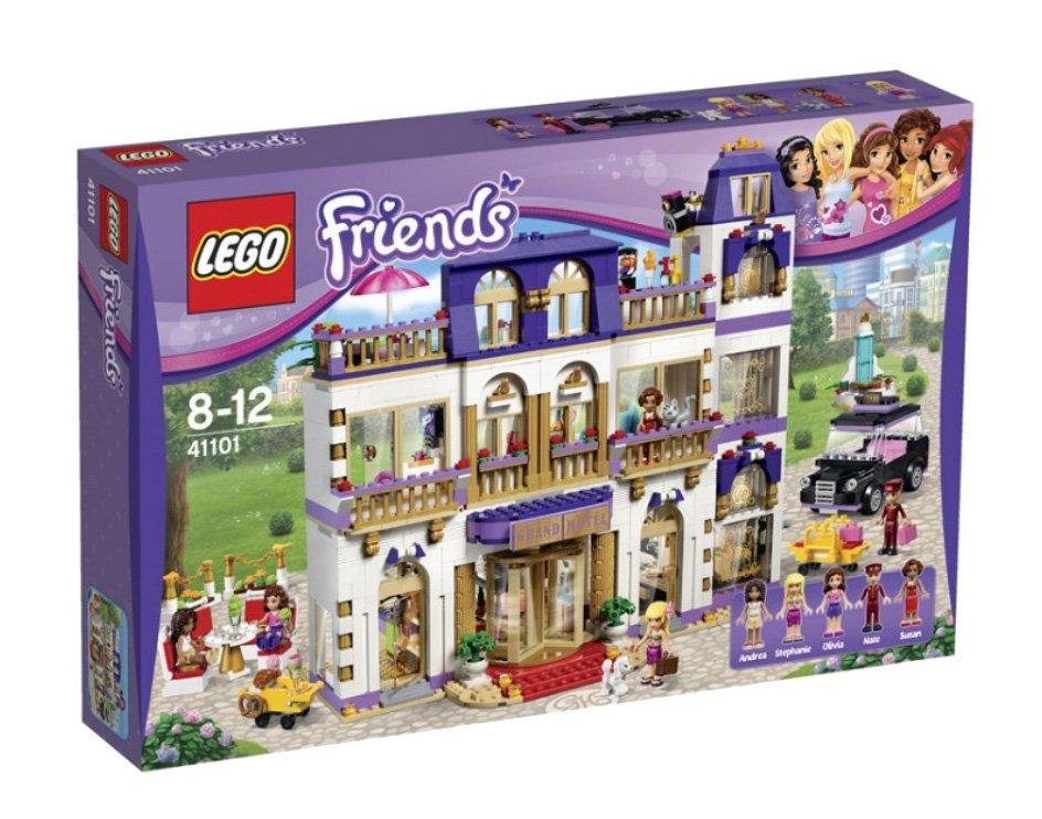 Конструктор lego friends гранд-отель