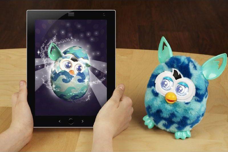 """Интерактивная игрушка Furby Boom """"Голубая волна"""", серия ..."""