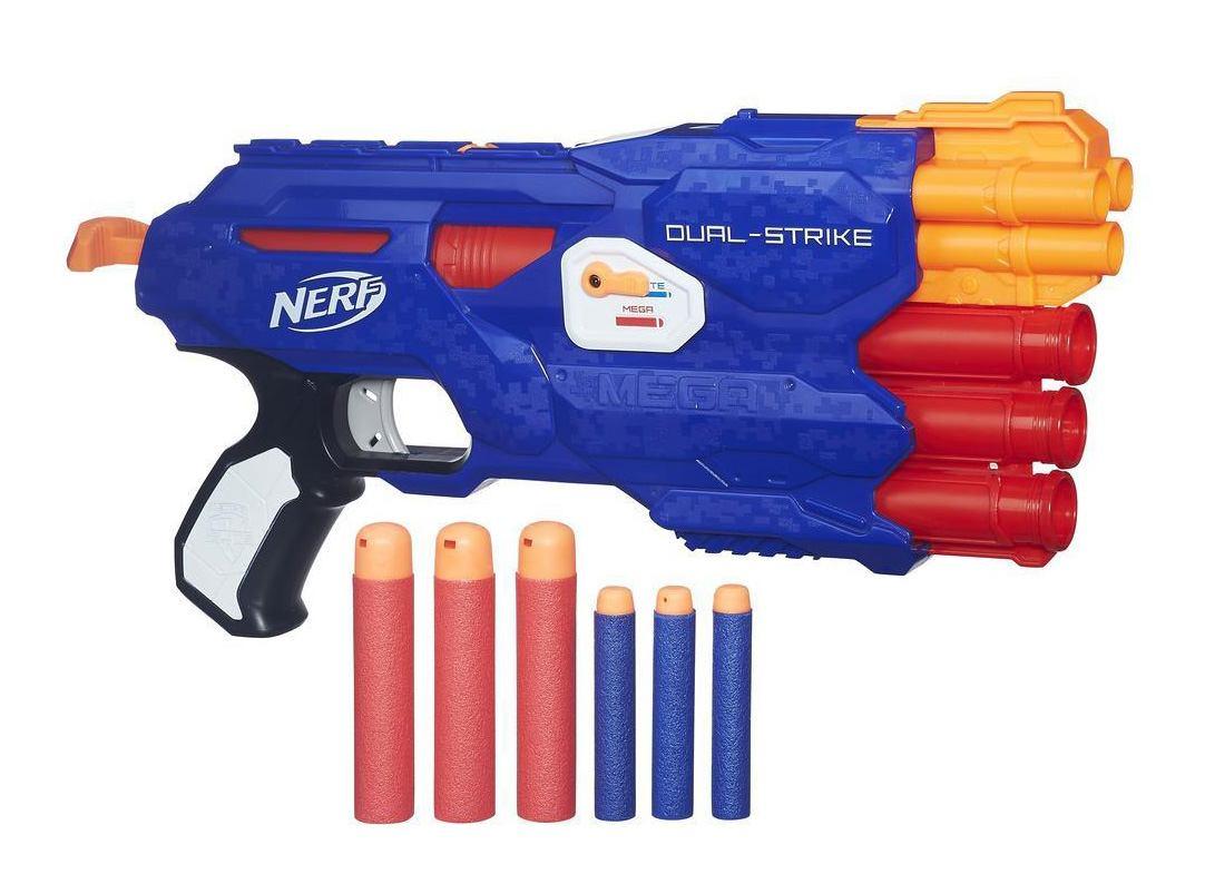 бластер Nerf двойной выстрел Dual Strike серия N Strike