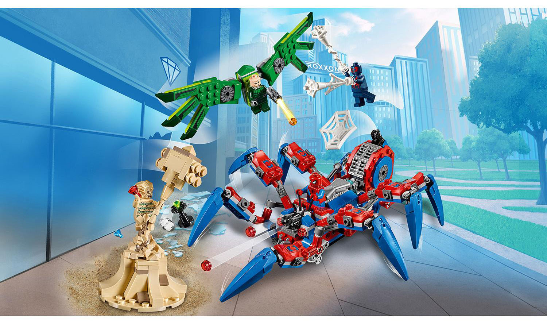 многих паука набор лего некоторых пор