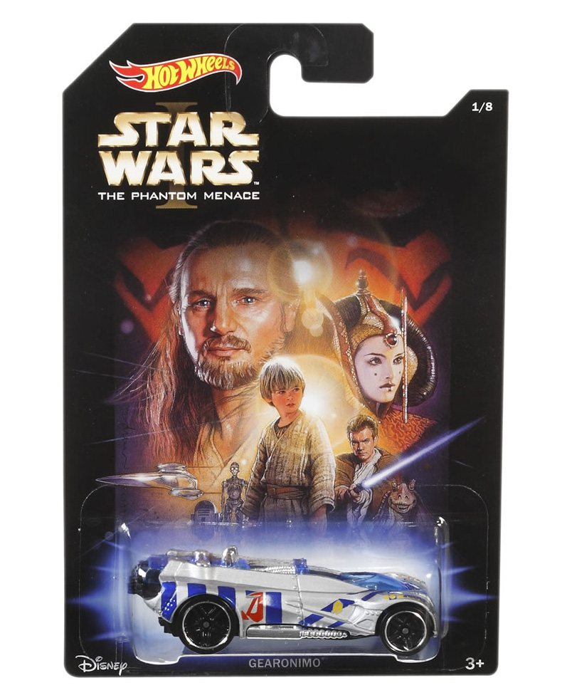 Машинки Hot Wheels базовые, серия Star Wars, 1:64 (CJY04), фото