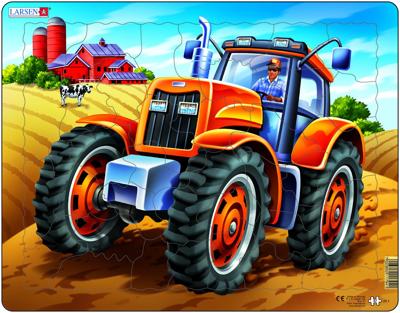 Открытки, трактор в картинках для мальчиков