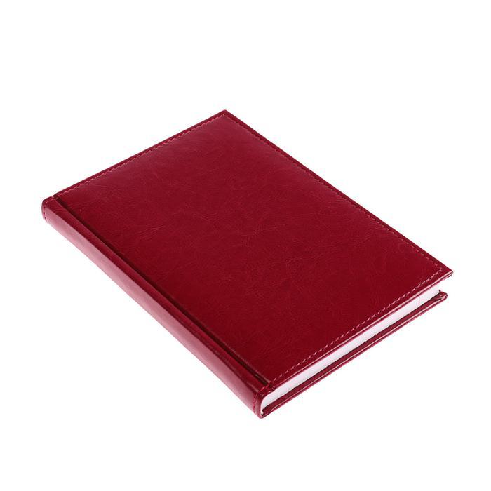 Ежедневник Calligrata недатированный А5, 160 листов, Небраска, бордо 3838918 купить по цене 360 руб. в Воронеже в интернет-магазине