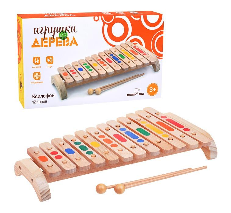 Музыкальный инструмент  из дерева
