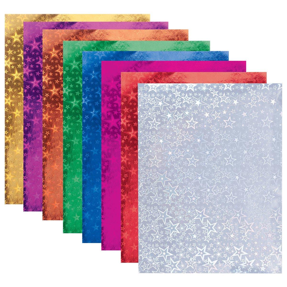 Картинки из голографической бумаги