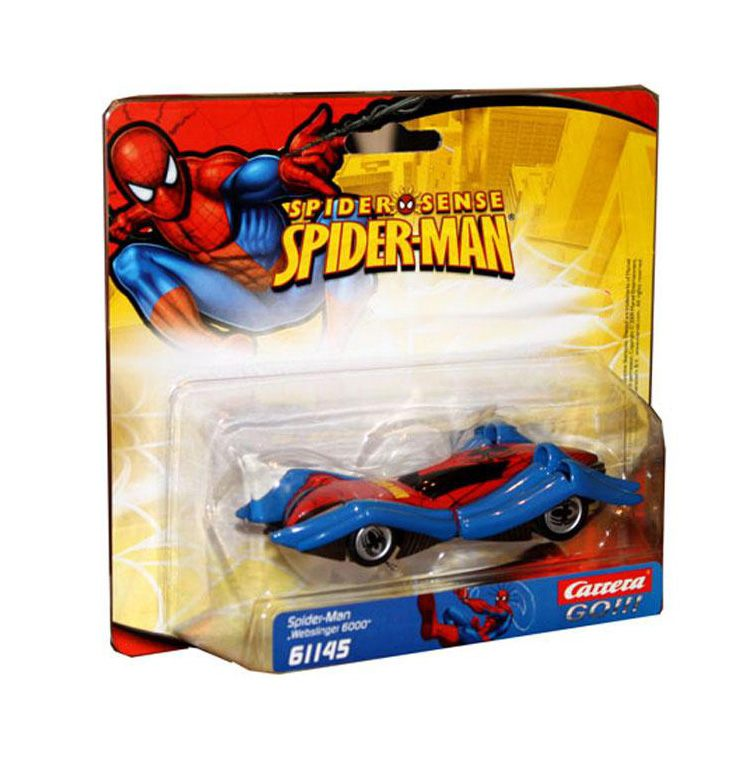 "Автомобиль для треков Carrera Spider-Man ""Webslinger 6000"" (61145), фото"