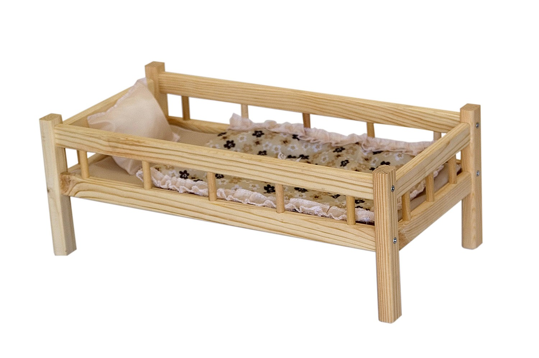 Кроватка для куклы своими руками из дерева своими руками 53