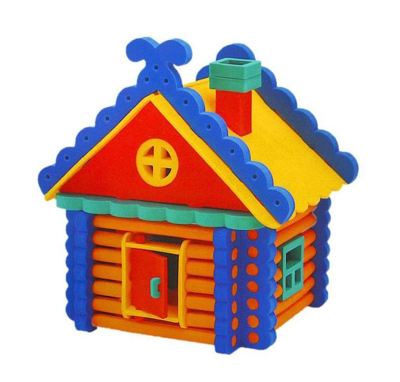 Цветной домик картинка для детей