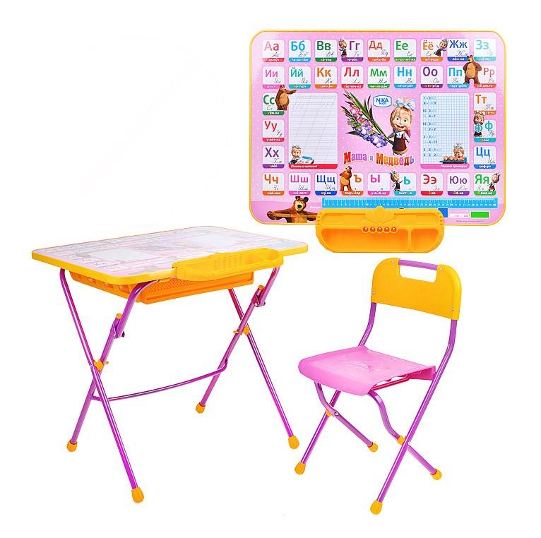 комплект мебели ника детям Nika никки азбука 3 маша и медведь