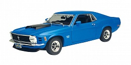 Машина MotorMax Ford Mustang Boos 429 1970, 1:24 (73303AC), фото