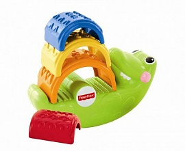 "Пирамидка Fisher-Price ""Крокодильчик"" (CDC48), фото"