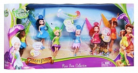 Набор Disney Fairies из 6 кукол Дисней Фея 11 см (688710), фото