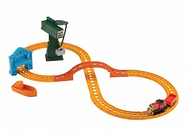 "Игровой набор Fisher-Price ""Томас и его друзья"", Салти и Крэнки на причале, серия Collectible Railway (BHR95), фото"