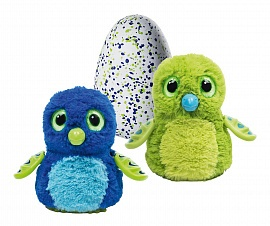 Интерактивная игрушка Hatchimals дракоша - интерактивный питомец, вылупляющийся из яйца (19100-DRAG-GREEN), фото