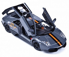 Машина Bburago Lamborghini Murcielago LP 670-4 SV China Limited Edition, металлическая, 1:24 (18-22120), фото
