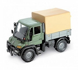 Модель машины Welly Mercedes-Benz Unimog U400 с фургоном, 1:32 (32380), фото